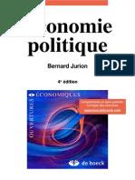 Economie Politique 4th Ed - Bernard Jurion