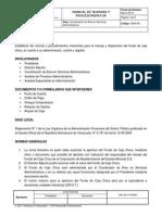 Manual Caja Chica Camsa