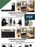 Tasas Sistema Financiero
