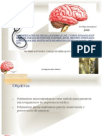Ponencia proyecto POLIMERIZACION de estructuras biológicas en UES. En la Universidad Tecnologica. Dr Vasquez  en Enfoques 2008