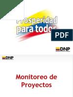 Monitoreo de Proyectos ModeloColombiamo