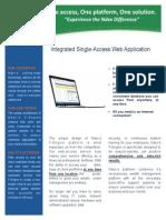 ndex 2-page gen-info brochure