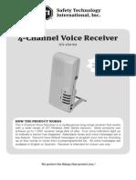 STI V34104 Instruction Manual