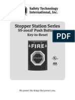 STI SS-2002F Instruction Manual