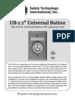 STI UB2 Instruction Manual