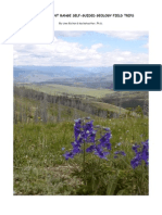 Colorado Front Range Self-Guided Geology Field Trips