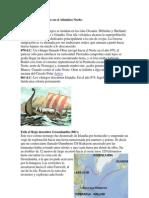 Expediciones Vikingas en El Atlántico Norte