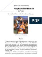 The Loving Search for the Lost Servant