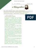 Palo Mayombe_ Tratado de Centella y Zarabanda