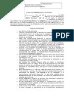 Acta de Lectura de Derechos de Detenido Dspt Tizimin