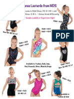 2015 MDS Dancewear Flyers