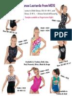 2015 MDS Dancewear Flyers