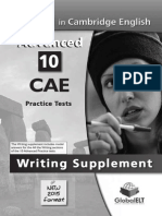 Cae Writing 2015 All Tasks