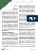 Blitz- und Überspannungsschutz für PV-Anlagen und Solarkraftwerke