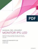 Catálogo monitor IPS LG