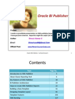 Oracle XML Publisher - by Dinesh Kumar S