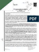Resolucion Municipal Nº243/15