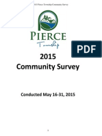 Pierce 2015 Community Survey RESULTS - Community Report