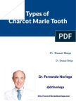 Types of Charcot Marie Tooth