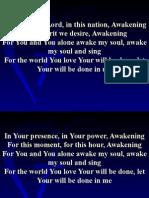 Awakening Song