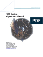 C-Nav GPS System Operations Manual