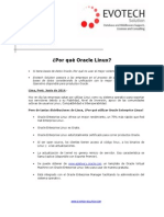 Nota Tecnica Junio 2014 Oracle Linux