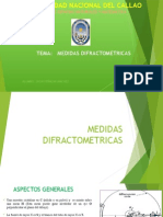 Difr.rx.Medidas Difractometricas Ppt