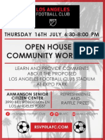 LAFC Open House an Workshop
