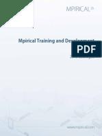 Training & Dev Guide 2015