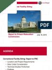 Prison Site Report