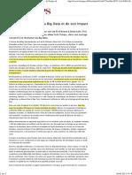 La Véritable Histoire Du Big Data Et de Son Impact - LeTemps.ch
