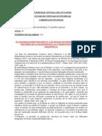 Ensayo de Materialismo Historico y La Cosmovision Andina