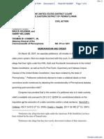 WILLIAMS v. CORBETT - Document No. 2