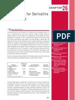 Accountign for Derivatice Instruments