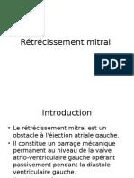 Rétrécissement Mitral