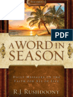 A Word in Season Vol. 6 - R. J. Rushdoony