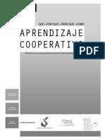Aprendizaje cooperativo. Qué, Por qué, Para qué, Cómo.pdf