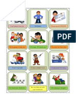 flashcards rep statements commands and requests