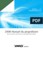 Manuel Du Propriétaire Yaris