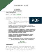 Projeto de Lei n 469-2015