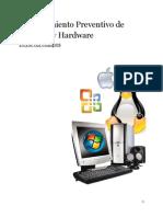 Mantenimiento Preventivo - Software - Hardware