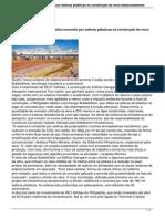Riogaleao Substitui Concreto Por Esferas Plasticas Na Construcao Do Novo Estacionamento