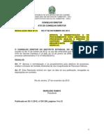 RESOLUÇÃO INEA Nº 63 - Uso Insignificante de Recursos Hidricos