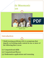 math mnemonics
