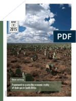 Framing the Economics of Shale Gas in South Africa Report WWF Web