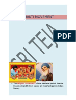 Bhakti Movement in India