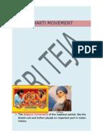 Bhakti Movement in India