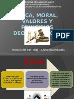Ingenieria Insutrial Ética Moral y Valores