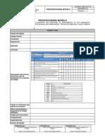Profesiograma Modelo MRL