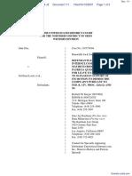 Doe v. SexSearch.com et al - Document No. 111
